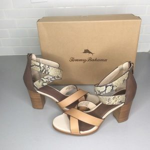 Tommy Bahama  heels sandals Lavinia  SZ 9.5